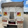 TOA white semi tipper trailer