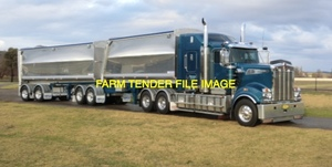 19Mtr B Double Truck / Tippers available Now! Truck and operator ready to go!