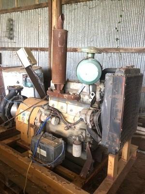 Under Auction - Diesel pump set- 2% + GST On All Lots