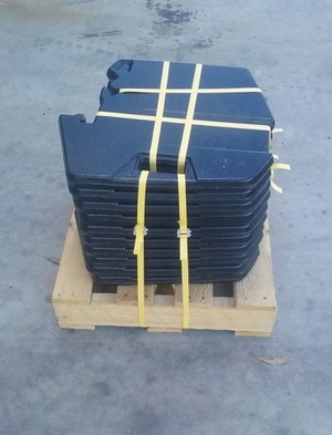 10 x Case tractor suitcase weights For Sale