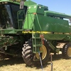 John Deere 9500 / 9600 Header with 30 ft Front and Comb Trailer