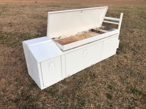 Tool Box with Wash Basin