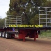 B-Double Set of Drop Deck Truck Trailers Wanted for Hay Carting