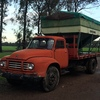 Bedford Tipping Tray Truck with Grouper and Grain Bin