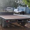 Flat top Trailer, 3.5t heavy duty