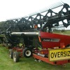 Case 7010 Header For Sale with 36Ft Draper Front