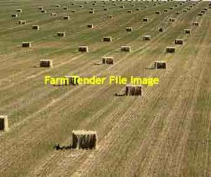 EOI of New Season Oaten Hay Off the Baler