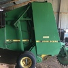John Deere 435 baler with net wrap