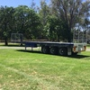 45 ft Flattop Tri-Axle Southern Cross Trailer
