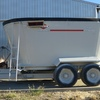 KUHN KNIGHT TWIN VERTICAL FEED MIXER WAGON