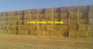 Wheaten Straw 440-500kg 8x4x3 Bales