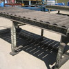 Rack - Heavy Duty Roller Table approx 2700mm x 1200mm x 920mm