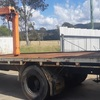 1989 FF Hino with Hiab and hydraulic ramps
