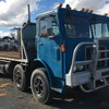 MACK MIR-700 Twin Steer Tilt Tray Truck For Sale w Container Pins