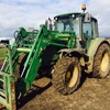 John Deere 6130 tractor with front end loader