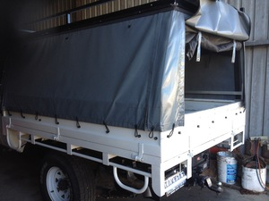 2005 Toyota Landcruiser Tray and Canopy For Sale