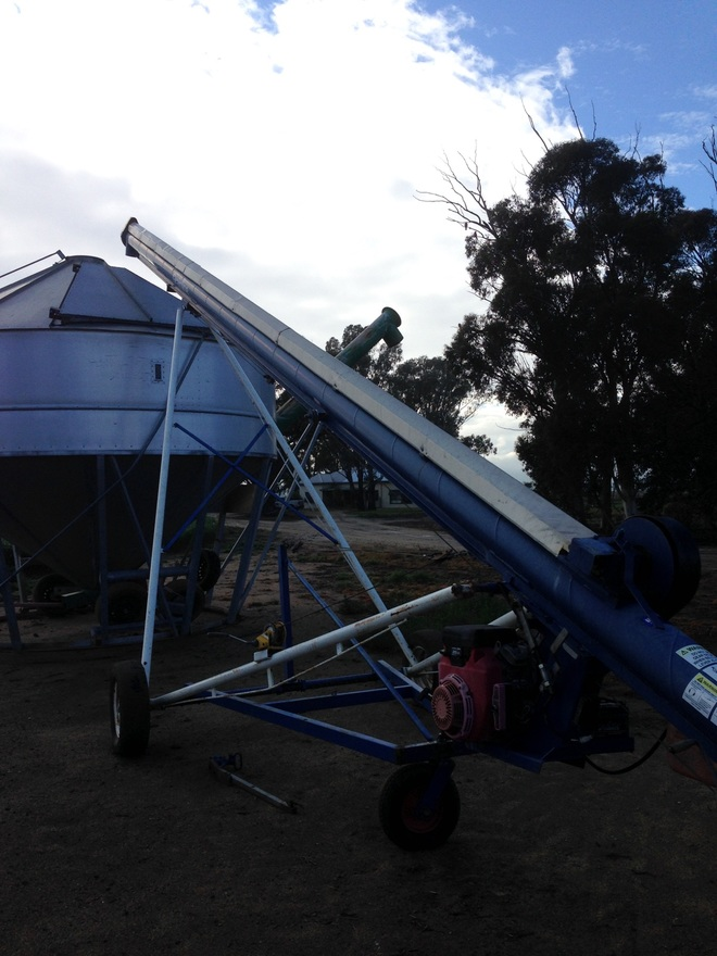 8inch x 43 ft grain line auger for sale machinery for For sale on line