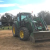 John Deere 6520 FWA Tractor with Burder XP3 9050 with Front End Loader