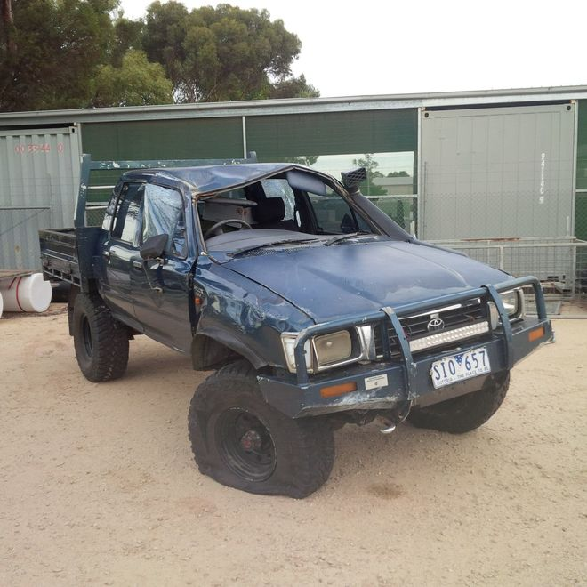 97 Toyota Hilux 2 8 Diesel Wrecking Or Sell As A Complete Unit