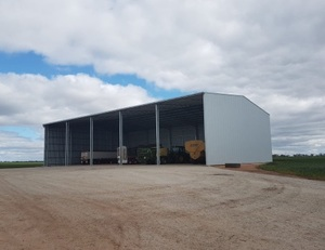1700 SERIES Entegra New Kit Hay Sheds - Now available through the PAC