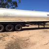 TRI-AXLE STEEL WATER TANKER WITH 4'' PUMP, 26000 LITRES.