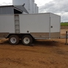 Tool Trailer Enclosed with Fuel Tank