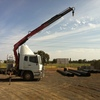 Mitsubishi Tray Truck with Fassi Crane