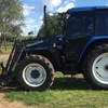 New Holland Tractor  TS110 With Quickie Loader