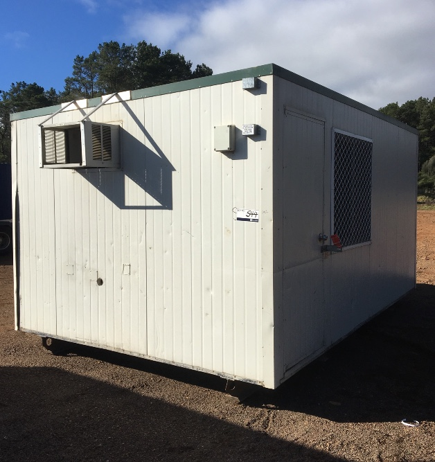 Portable Farm Buildings : Mobile office smoko hut portable building machinery