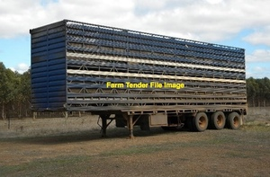 3 or 4 Deck Stockcrate Trailer Wanted