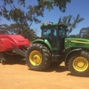 Hay  Baling Contractor Available. Wimmera Area High Density Baler