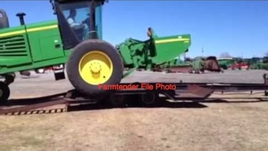 Wanted a Carrier Trailer for a JD SP Windrower
