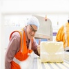First block of cheese rolls off the line at Stanhope