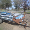 Pearce Offsider Round Bale Feedout Machine