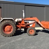 David Brown 990 Tractor With  FEL &  3PL, 65HP