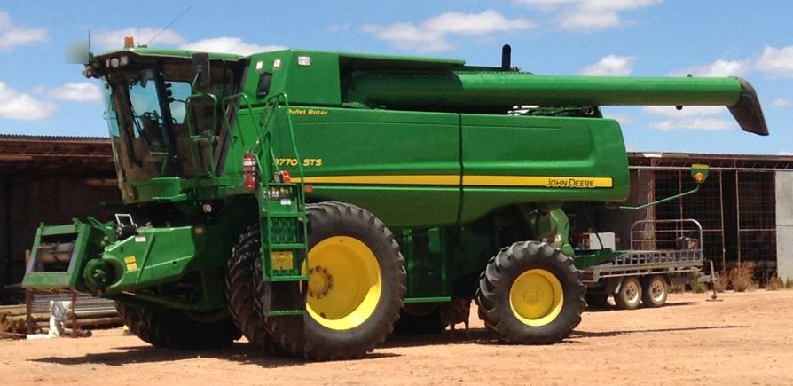 9770 John Deere Header For Sale 2010 Model