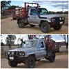 Landcruiser Utility with Complete Spray Unit