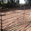 ANTIQUE GATES - CATTLE BAR GATE. 12 FEET .CAST CENTRE .EXCELLENT CONDITION.MATCHING PAIR.$1650. EACH ONO