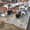 PUMP- twin 3 phase on skid