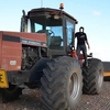 Case 9260 Tractor with 4 wheel steer