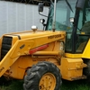 Mf750 4wd backhoe low hours