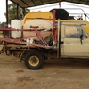1200ltr 16.5 mtr Brumby Spray Rig On Land Cruiser Ute For Sale
