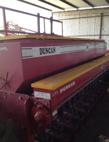 Duncan 23 Run Triple Disc 734 Multi Seeder Machinery