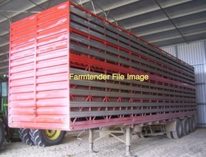 Wanted 24' Cattle Stock Crate