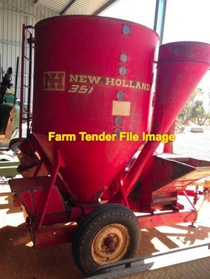 New Holland / All Bulk / Gehl or simular  Feed Mixer