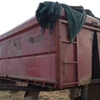 23ft Truck tray with grain bin and hoist