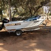 Stacer 400 Half Cab Fishing Boat