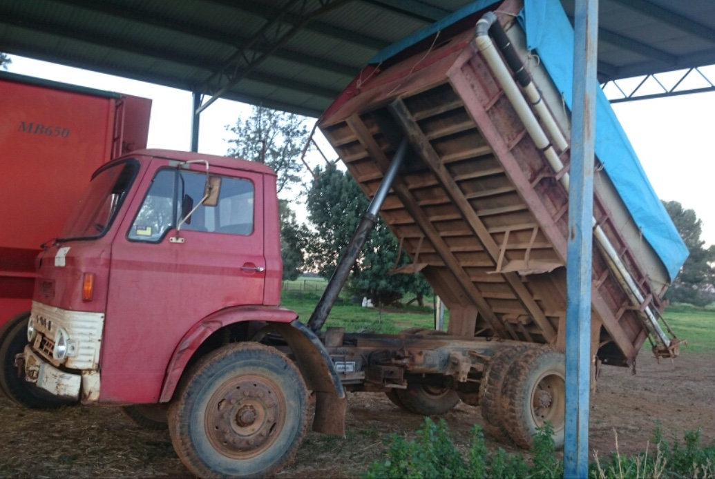 Trucks For Sale: Ford D Series Tipper Truck For Sale