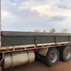 Volvo F1023 Bogie drive tipping tray with Seed & Fertiliser divider and remote door.