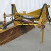 3pl grader blade with rear wheel